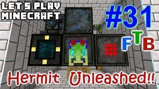 Minecraft FTB Hermitcraft Unleashed Ep. 31 - Getting Even with MFFS (Prank TFC)