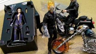 Hot Toys GHOST RIDER & Resident Evil BATTLE SUIT JILL