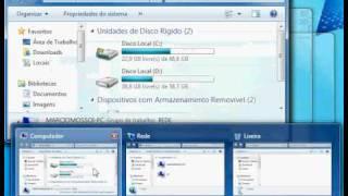 Pré-visualizar Janelas Abertas Usando Windows 7