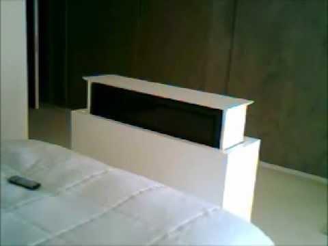 Motorized pop up tv lift rotating mechanism by for Motorized lift for tv