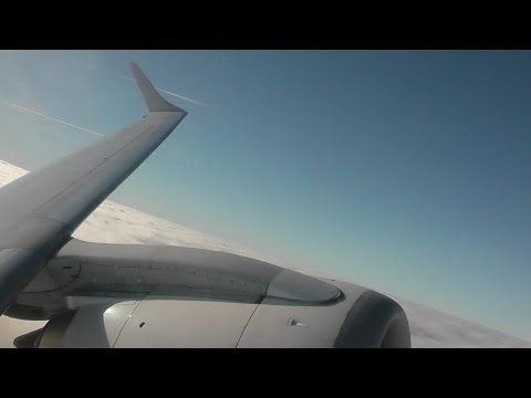 Flybe BE964 London Gatwick (LGW) - Belfast City (BHD) E195 G-FBEM *FULL FLIGHT* 1/12/13 [1080p HD]