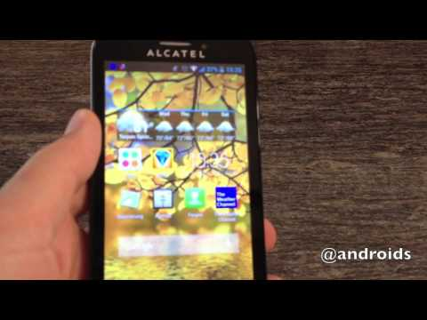 T-Mobile Alcatel ONE TOUCH Fierce hands-on