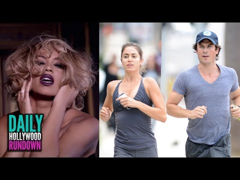 Beyonce's 'Fifty Shades Of Grey' SEXY Teaser Video - Ian Somerhalder & Nikki Reed: New Couple Alert!