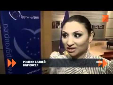 Sofi Marinova in the European Parliament in Brussels TV7 news report