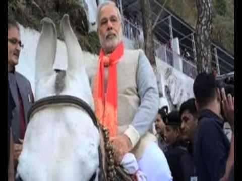 Modi visits Vaishno Devi shrines to seek blessings