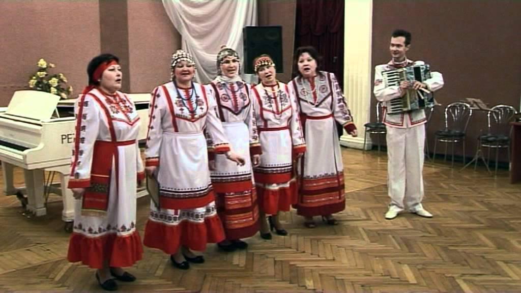 чувашские нароные песни в современной видео: