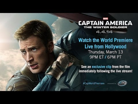 Marvel's Captain America: The Winter Soldier Red Carpet World Premiere