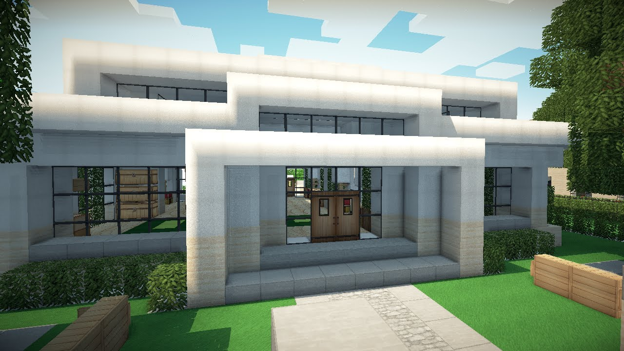 Image Gallery of Cool Modern Houses In Minecraft