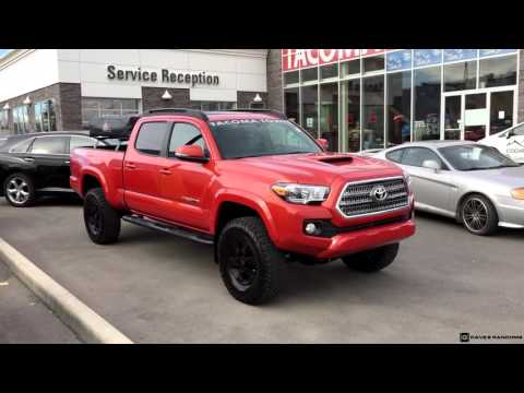 Lifted 2016 Toyota Tacoma Double Cab TRD Sport 4X4