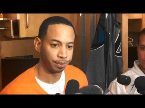 Devin Harris speaks after 1.26.14 win over Pistons