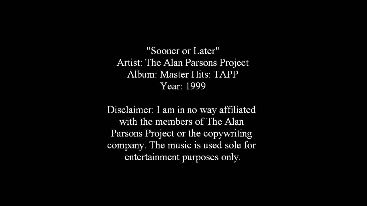 Sooner or Later - The Alan Parsons Project [Lyrics] - YouTube