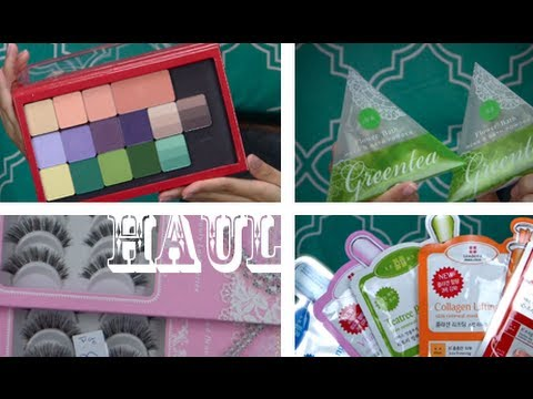 Huge Vacation Beauty Haul!