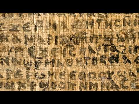 Papyrus referring to Jesus' wife may be authentic