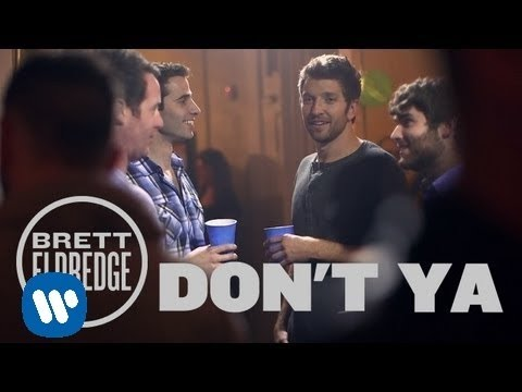"Brett Eldredge - Don't Ya (Official Music Video), Get ""Don't Ya"" on iTunes - http://smarturl.it/bretteldredge Catch Brett Eldredge on Taylor Swift's RED Tour - http://www.bretteldredge.com/tour www.bretteldr..."