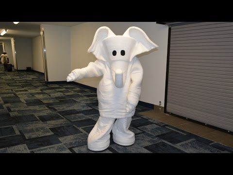Carnival Sunshine Cruise Towel Character Meet - Ellie the Elephant Dancing!
