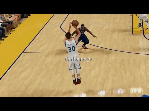 NBA 2K16 PS4 Play Now - Curry Half Court 3 vs Pelicans!