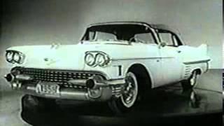 1958 Cadillac Fleetwood Reklama Commercial