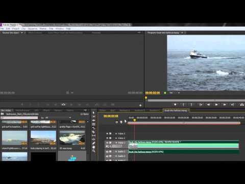 Premiere Pro Basics CS6: 18 Tools Part 3: Rate Stretch Tool