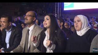 شوف تيفي تنقل كواليس تفاعل زوجة ربيعي مع مباراة زوجها في منافسات السلسلة العالمية في الملاكمة | بــووز
