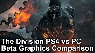 Tom Clancy's The Division - Beta PS4 vs PC Ultra Graphics Comparison