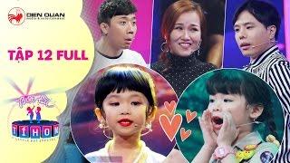 Biệt tài tí hon | tập 12 full hd: MC nhí 4 tuổi và thần đồng tiếng Anh làm Trịnh Thăng Bình bái phục