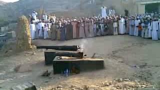 مدفع آخر عزوة بعيد الأضحى المبارك ١٤٢٩ بــــ فـنـجـاء