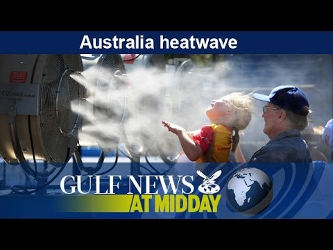Australia heatwave affects tennis players at Australian Open - GN Midday