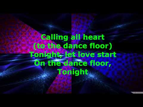 Robin Thicke & Jessie J - Calling All Hearts (Lyrics)