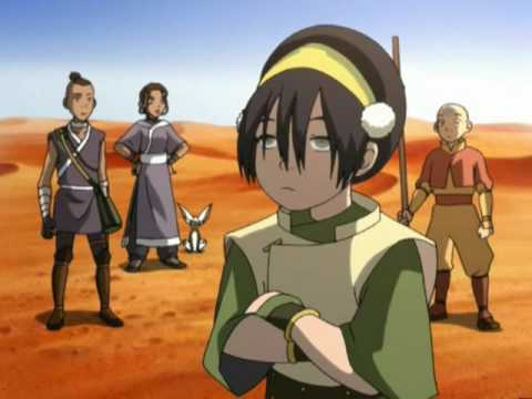 Toph is blind, Toph is blind