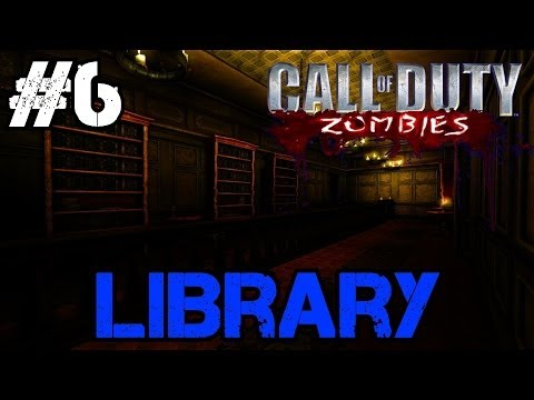 Zombie Library Ep.6 - Call of Duty Custom Zombies (CoD Zombies) - World at War [PC HD]