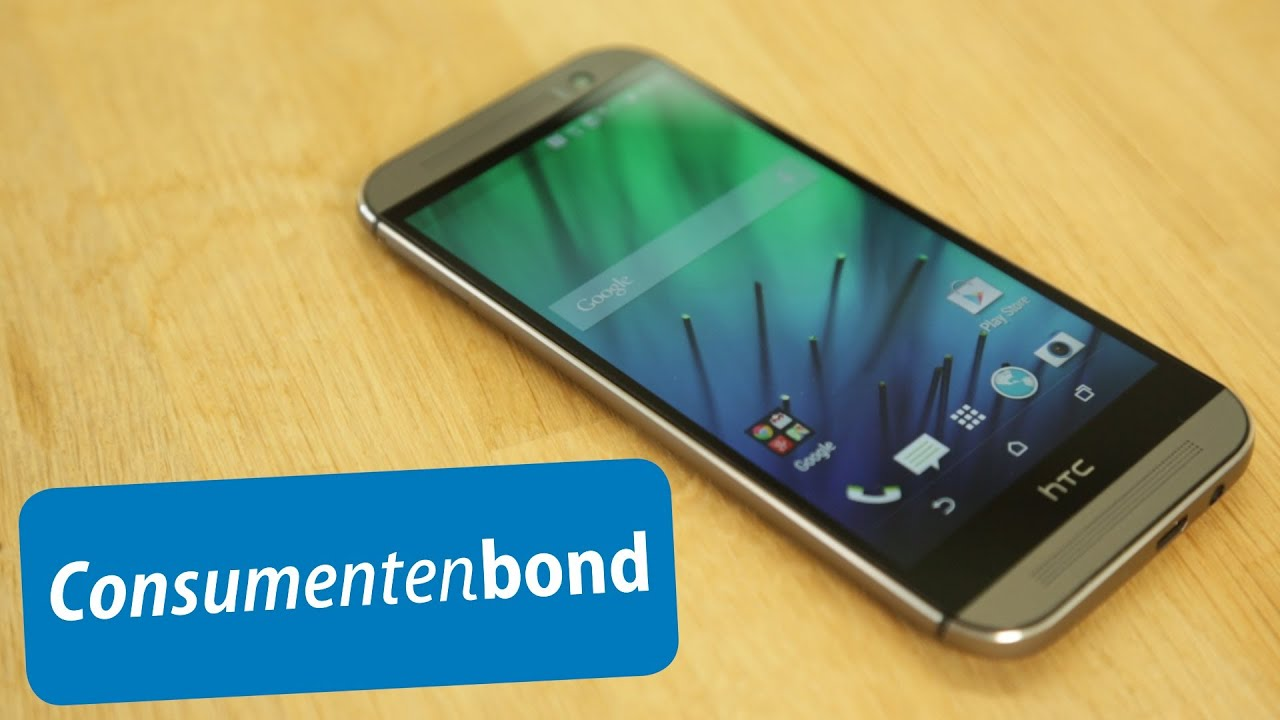 HTC One M8 - Review (Consumentenbond) - YouTube