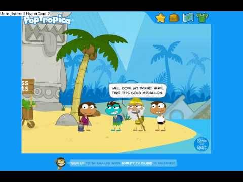 Poptropica Cheats For Shark Tooth Island Part 1