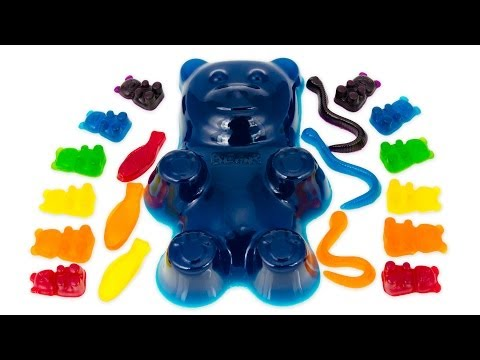 How to Make a Giant Gummy Bear and other Gummy Candy