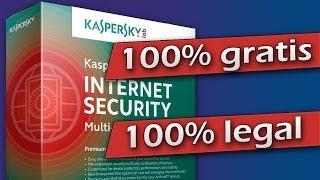Descargar Antivirus Kaspersky 2014 100% GRATIS Y LEGAL