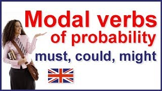 Modal verbs of probability, Must, Could, Might