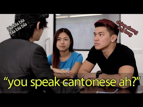 You speak Cantonese ah?