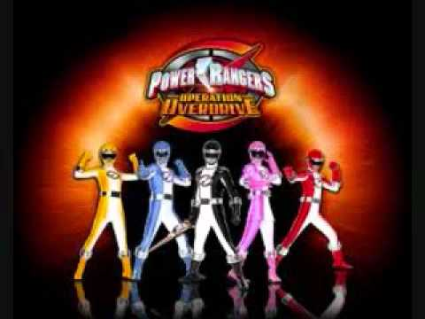 power rangers songs - YouTube