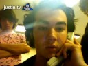 Kevin Jonas doing some AWESOME eyebrow tricks ;)