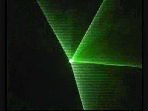 Laser Show Digital Programable Casero. Prueba maquina de humo 1
