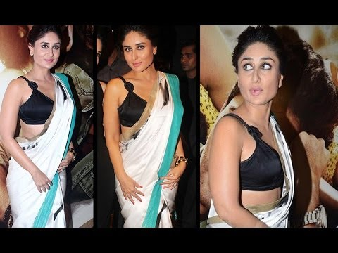 Sexy Kareena Kapoor in Sexy Black Blouse