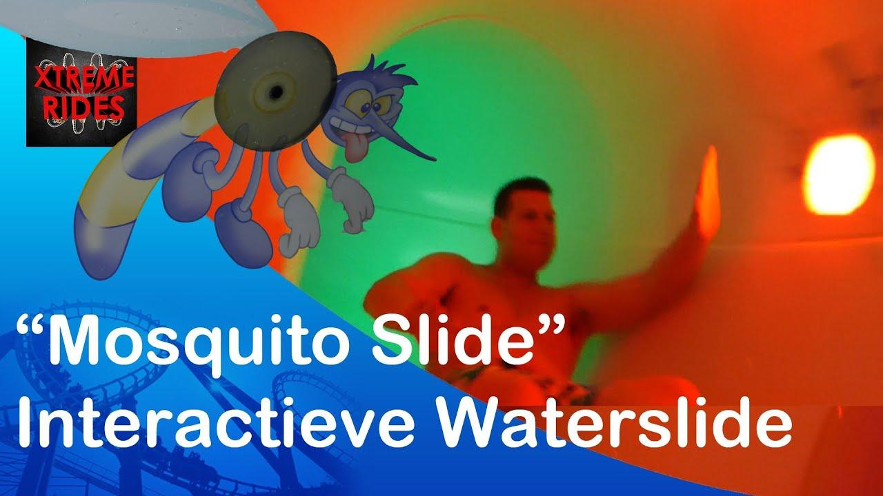 Interactive Waterslide Mosquito Slide Bad Hesselingen