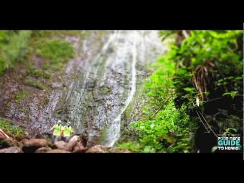 "LUAALAEA FALLS HD ""Waydes World Hawaii"""