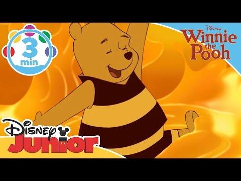 The Mini Adventures of Winnie the Pooh | The Honey Song | Disney Junior UK