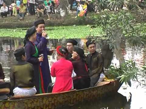 Quan Họ Trên Thuyền 2012 _ Tình Ta Biển Bạc Đồng Xanh