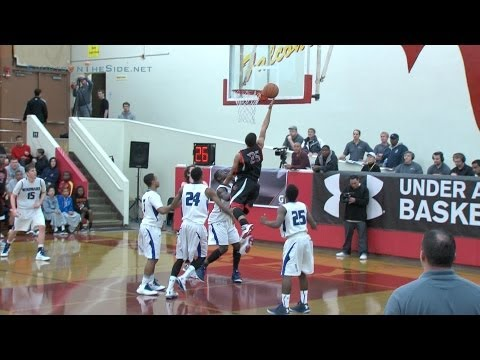 Jermaine Edmonds, Jr. '13, Salesian Senior, 2012 Under Armour Holiday Classic