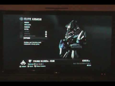 Limited Edition Elite Armor For Halo Reach - YouTube
