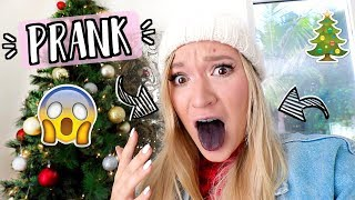Christmas PRANK Gone Wrong!! AlishaMarieVlogs
