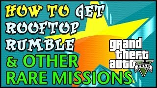 GTA 5 [[[***PATCHED***]]] HOW TO GET ROOFTOP RUMBLE
