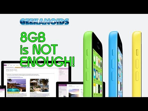 Geek News - 8GB iPhone 5c & Microsoft OneNote for Mac