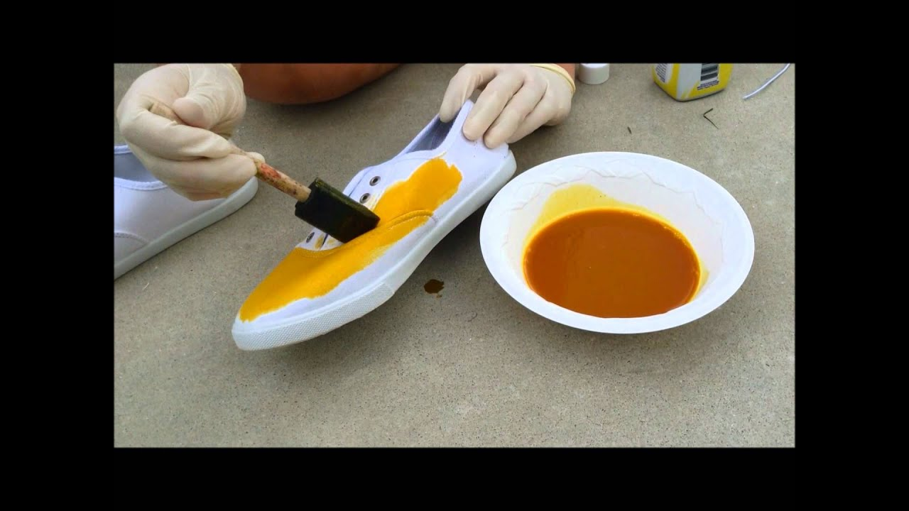 how to dye canvas shoes back to school 2013